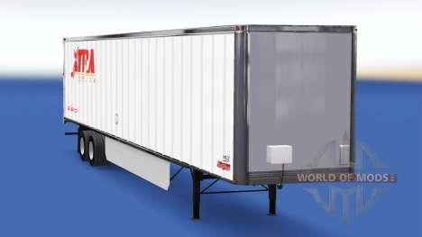 Скин Extra Lease на полуприцеп для American Truck Simulator