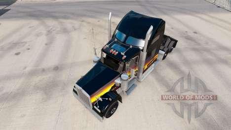 Скин Sunset на тягач Kenworth W900 для American Truck Simulator