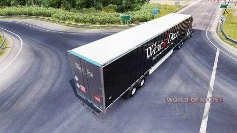 Скин Winn Dixie на полуприцеп для American Truck Simulator