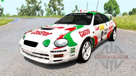 Toyota Celica GT-Four (ST205) 1995 WRC для BeamNG Drive