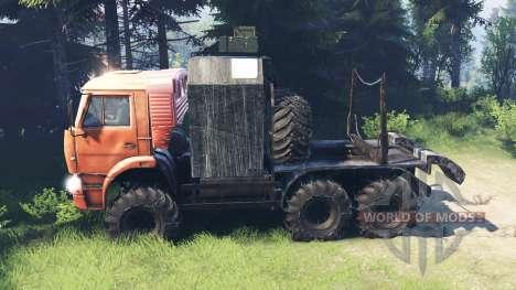 КамАЗ-6522 [обновлённый] для Spin Tires