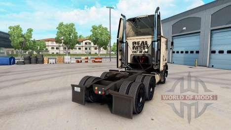 Скин Absolute Badass на тягач Freightliner FLB для American Truck Simulator