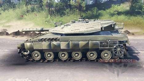 Merkava Mk.4 для Spin Tires