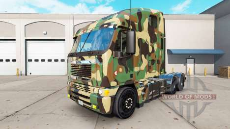 Скин Army на тягач Freightliner Argosy для American Truck Simulator
