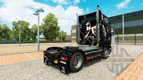 Скин Joker на тягач Scania для Euro Truck Simulator 2