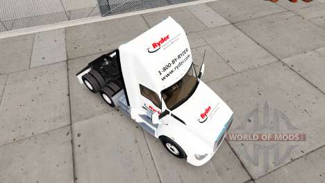 Скин Ryder на тягач Kenworth для American Truck Simulator