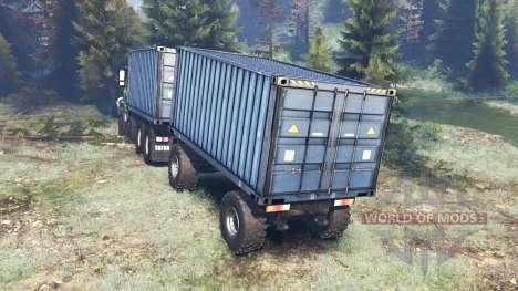 Tatra 163 Jamal 8x8 v4.0 для Spin Tires