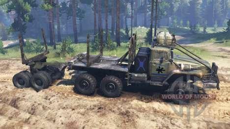 Урал-4320-10 для Spin Tires