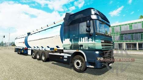 Дополнительные шасси для Euro Truck Simulator 2