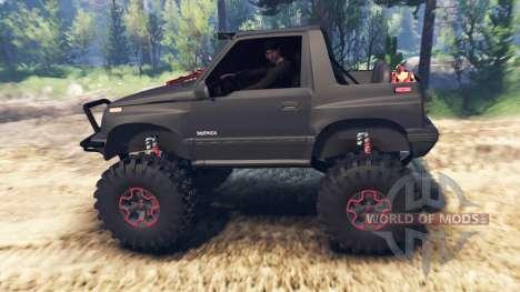 Suzuki Sidekick v2.0 для Spin Tires