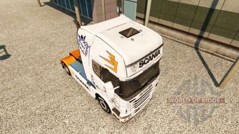 Скин Scania R2009 на тягач Scania для Euro Truck Simulator 2