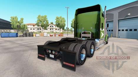 Скин Moving On на тягач Kenworth W900 для American Truck Simulator