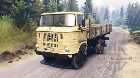 IFA W50 L для Spin Tires