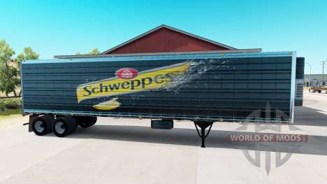 Сборник скинов на полуприцепы для American Truck Simulator