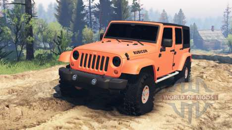Jeep Wrangler Unlimited для Spin Tires