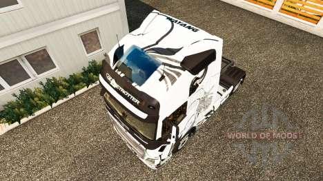 Скин Wayang на тягач Volvo для Euro Truck Simulator 2