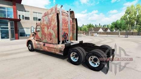 Скин Abstract на тягач Peterbilt для American Truck Simulator