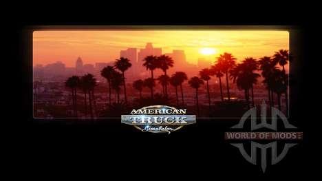 Загрузочные экраны Калифорнии для American Truck Simulator