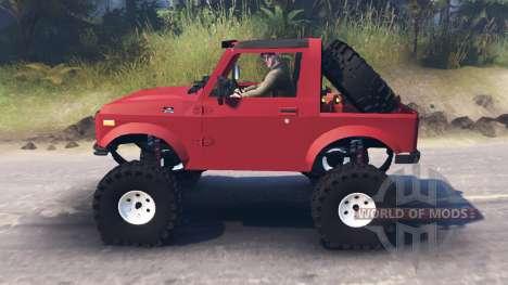 Suzuki Samurai для Spin Tires