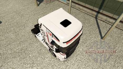 Скин NikoTrans на тягач Scania R700 для Euro Truck Simulator 2