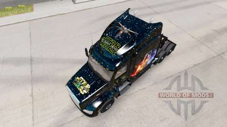 Скин Star Wars на тягач Peterbilt для American Truck Simulator