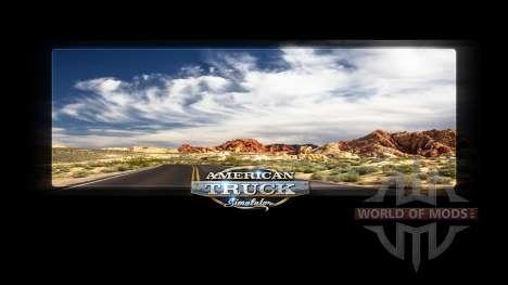 Загрузочные экраны Невады для American Truck Simulator