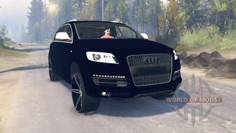 Audi Q7 v3.0 для Spin Tires