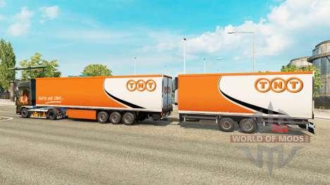 Полуприцепы Krone Gigaliner [TNT] для Euro Truck Simulator 2