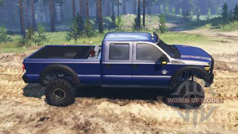 Ford F-450 2014 для Spin Tires