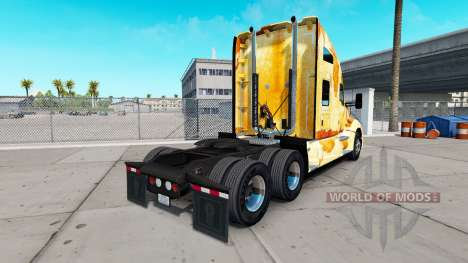 Скин Rust на тягач Kenworth для American Truck Simulator
