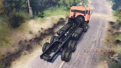 КамАЗ-65111 для Spin Tires