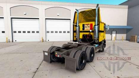 Скин CCC на тягач Freightliner FLB для American Truck Simulator