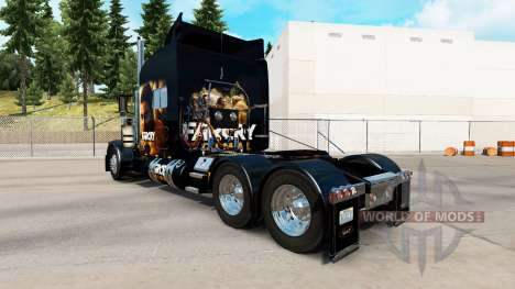Скин Far Cry Primal на тягач Peterbilt 389 для American Truck Simulator
