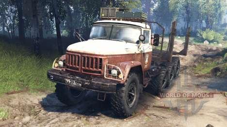 ЗиЛ-131 8x8 v3.0 для Spin Tires