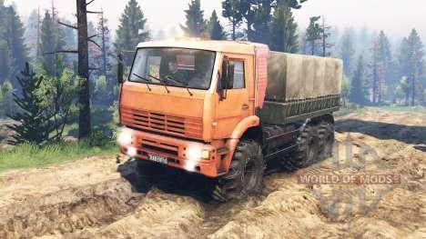 КамАЗ-6522 v4.0 для Spin Tires