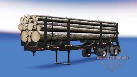 Полуприцеп-лесовоз для American Truck Simulator