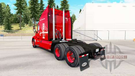 Скин Oakland Bay Bridge на тягач Peterbilt для American Truck Simulator