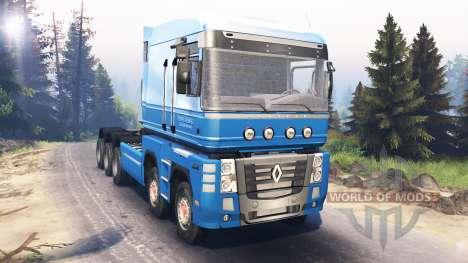 Renault Magnum 10x10 v5.0 для Spin Tires