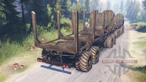 Урал-5322 для Spin Tires