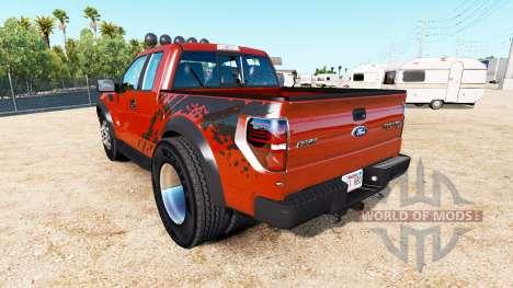 Ford F-150 SVT Raptor [urban] для American Truck Simulator