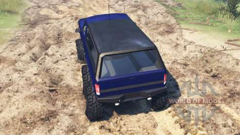 Ford Bronco 6x6 для Spin Tires