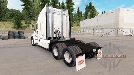 Скин Pride Transport на тягач Peterbilt для American Truck Simulator