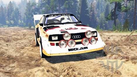 Audi Sport quattro S1 v2.0 для Spin Tires