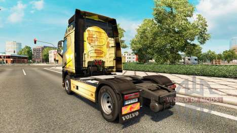 Скин  Oro на тягач Volvo для Euro Truck Simulator 2