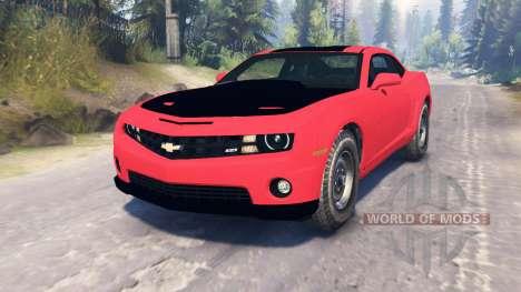 Chevrolet Camaro SS для Spin Tires