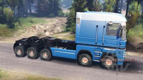 Renault Magnum 10x10 v4.0 для Spin Tires