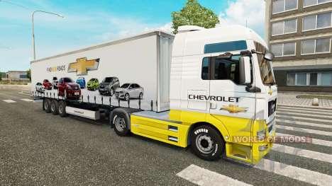 Скины Car Company на тягачи для Euro Truck Simulator 2