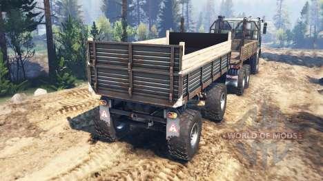 МАЗ-6317 v3.0 для Spin Tires