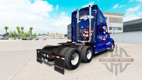 Скин Broncos на тягач Kenworth для American Truck Simulator