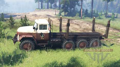 ЗиЛ-131 8x8 для Spin Tires